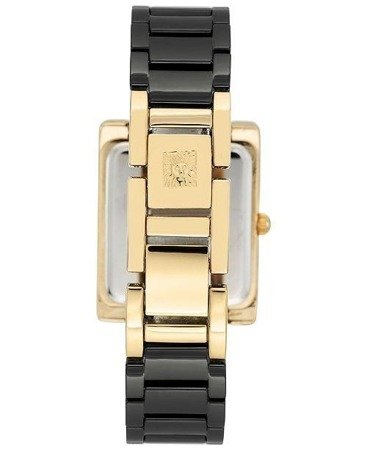 Anne Klein Watch 2952BKGB ceramic bracelet