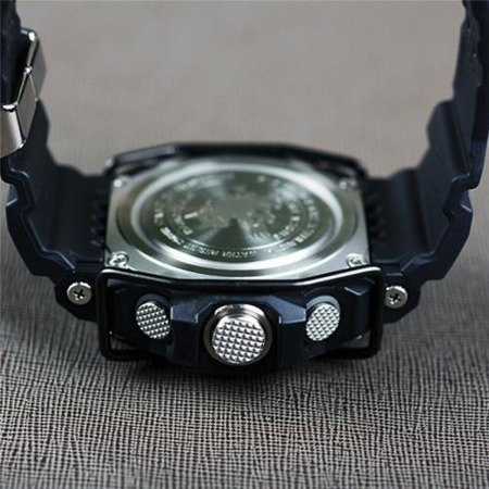 Black bullbar for Casio G-Shock GW-9400 Rangeman Watch, bumper, bumper