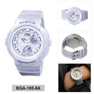 Casio Baby G BGA-195-8ADR Ladies Watch