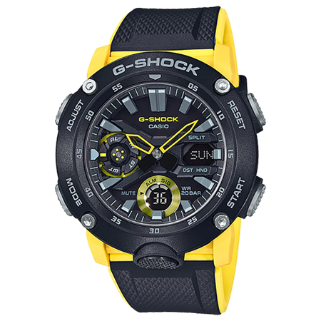 Casio G-Shock GA-2000-1A9 Men's Watch