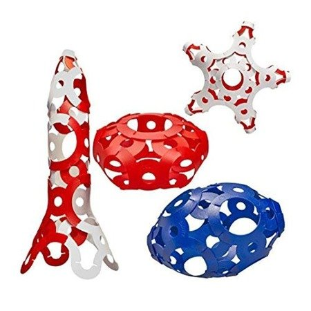 Children's toy Foooty 001RD Foldable Ball red