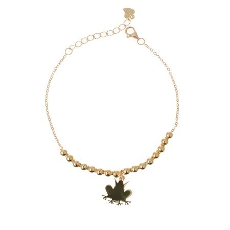 "Gold-plated ""Frogy Gold"" Women's bracelet"
