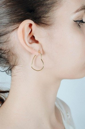 Gold-plated Geneve earrings