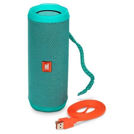 JBL Flip 4 Teal Turquoise Bluetooth wireless speaker