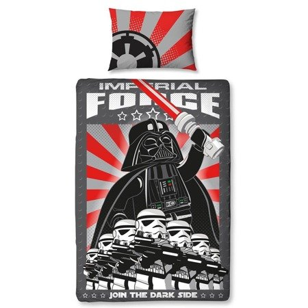 LEGO 405472 bedding for children Dark Side 135x200cm, 74x48cm
