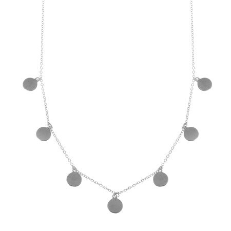 Silver Necklace ''Natural Beauty""